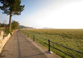 Grange-Over-Sands promenade